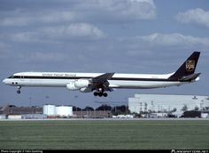 N808UP United Parcel Service (UPS) Douglas DC-8-73AF photographed at Louisville International (Standiford Field) (SDF / KSDF) by Felix Goetting