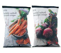 Marks & Spencer vegetables by Nicole Merrie #packaging #design