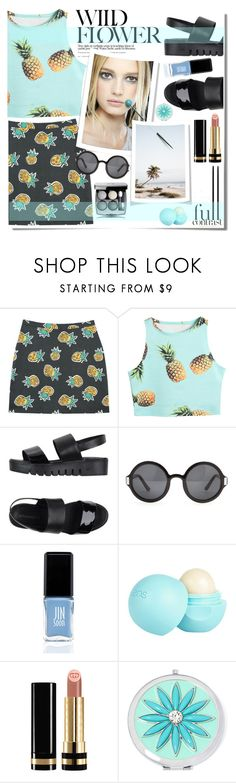 """""""Life Is Better When You're Laughing"""" by daizydarling ❤ liked on Polyvore featuring Chanel, Jeffrey Campbell, The Row, JINsoon, River Island, Gucci and Liz Claiborne"""