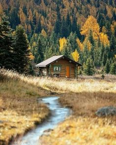 Want to experience the goodness of living in a country-style house and away from the city, and if you love hands-on, log cabin kits is the solution. Cabin In The Woods, Cabins In The Mountains, Virginia Mountains, Log Cabin Homes, Log Cabins, Rustic Cabins, Little Cabin, Cabins And Cottages, Earthship