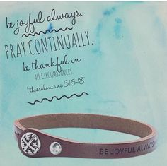 Must-have bracelet!!! Goes with everything and I LOVE the scripture! AND it's real leather which means you can diffuse your oils on it....how cool is that?!?! #pdstyle #premierjewelr  #bejoyful