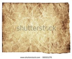 Aged paper texture with rough edges - stock photo 88501276