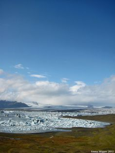 Proglacail Lake in colour