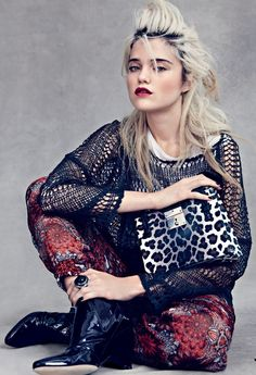 Sky Ferreira for US Vogue