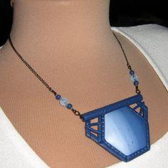 Modrý šestiúhelník