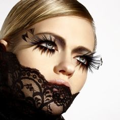 Katja Anderson's pinterest! We adore her and these lashes!