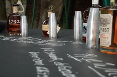 Bourbon tasting party from heatherlambie.com