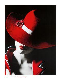 Femme en Vogue I. Bertram Bahner. Foto schilderij. Prachtige kunstdruk geprint op extra stevig papier. Ideaal voor inlijsten. http://www.schilderijenstore.nl/Fotografie-c