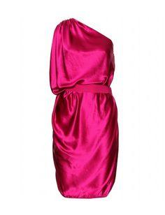Lanvin - ASYMMETRIC SILK DRESS  - mytheresa.com GmbH