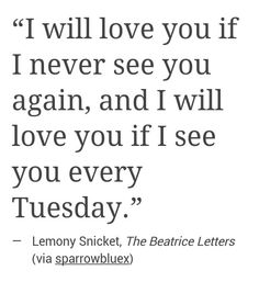 either way, i will love you.
