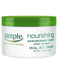 Simple Kind to Skin Cream, Nourishing 24 Hour Day and Night oz *** Check this awesome product by going to the link at the image. (This is an affiliate link) Best Night Cream, Anti Aging Night Cream, Cream For Oily Skin, Skin Cream, Best Skincare Products, Beauty Products, Facial Cream, Best Moisturizer, Face Skin Care