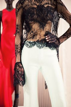 sheer lace ♥