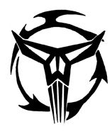 "The symbol of the Mandalorian Neo Crusaders is the first recorded use of the ""skull"" image"