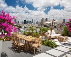 Amazing Roof Garden With Dining Table And Gazebo Colorful Plants Awesome roof gardens design ideas picture gallery Home design