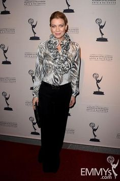 "Laurie Holden arrives at An Evening with ""The Walking Dead"""