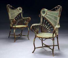 Clèment Gelly & Cie, armchairs ca. 1910