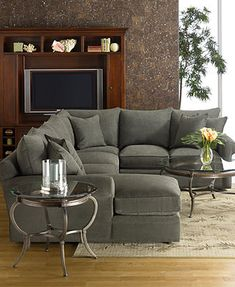doss fabric microfiber sectional sofa 3 piece right arm facing loveseat left arm - Radley Sectional
