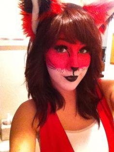 Fox makeup.