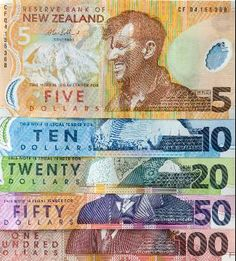 New Zealand Dollars...we must have the most colourful currency in the world…