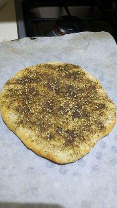 Zatar auf Pizzateig Zatar Recipes, Pizza Dough, Cooking, Ethnic Recipes, Food, Animals, Kitchen, Cuisine, Animaux