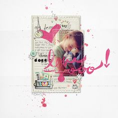Janna Werner: digitales Scrapbooking | Layout von CD Muckosky