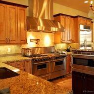 Contrasting Kitchen Islands | Storage cabinets, Dark wood and Storage