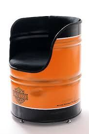Image result for oil drum chair