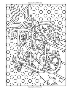 A Year of Coloring Affirmations for New Mothers - Adult Coloring Book Swear Word Coloring Book, Love Coloring Pages, Printable Adult Coloring Pages, Mandala Coloring Pages, Animal Coloring Pages, Coloring Books, Doodle Coloring, Coloring Pages For Teenagers, Coloring Pages Inspirational