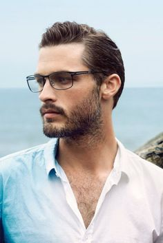 beard... glasses... chest hair...swoonage.