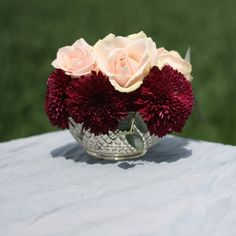 Grandma's Vase Pressed Glass Bowl Large - Wedding Centrepiece Fish Bowl Centerpiece Wedding, Fishbowl Centerpiece, Vase Centerpieces, Wedding Table Centerpieces, Bud Vases, Fish Bowl Vases, Wedding Decorations For Sale, When We Get Married, Wedding With Kids