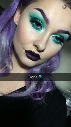 Fierce makeup by Alyssa Marie Artistry