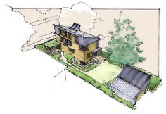 "Tom Bassett-Dilley Architect, ""Urban Homestead"" passive house project"