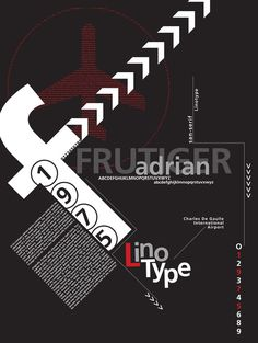 Typography Poster by Leah Hillan, via Behance