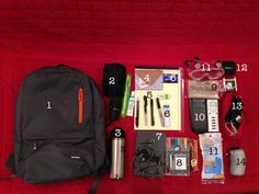 The Pre-Med Undergrad Bag -- everything you need to have in your book bag.