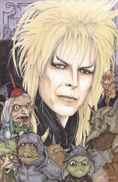Jareth the Goblin King Labyrinth by ChrisOzFulton.deviantart.com on @DeviantArt