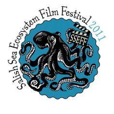 Salish Sea Ecosystem Film Festival 2011 Logo: Vancouver