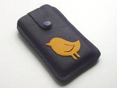 Handytasche aus Leder iphone 4