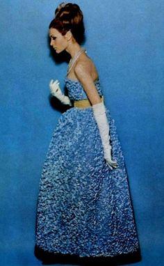 Robe du soir Guy Laroche, 1964