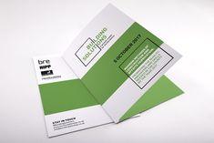Portfolio project: Building solutions folder cover | Beehive Green Design Studio
