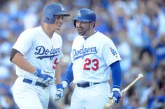 Corey Seager & Adrian Gonzales