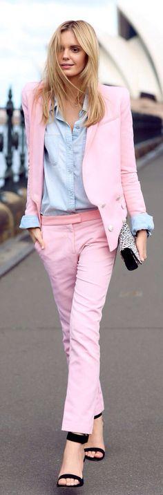 Beautiful Pink Suit