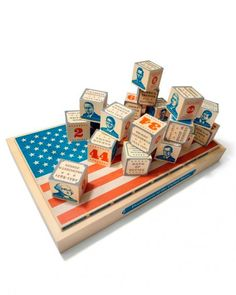 Building a Legacy  Turn playtime into a history lesson with presidential blocks.