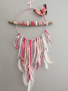 Articoli simili al dream catcher personalizzabile su Etsy - Acchiappasogni personalizzabile You are in the right place about diy projects Here we offer you the - Diy Crafts Hacks, Diy Home Crafts, Homemade Crafts, Crafts For Kids, Arts And Crafts, Diy Tumblr, Dream Catcher Decor, Hoop Dreams, Macrame Design