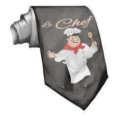 French Chef Tie Show everyone who cooked dinner!
