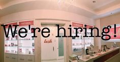 That's right! We are hiring for amazing stylists!! Must be a licensed esthetician or cosmetologist. Lash experience is a plus but not required. If interested please send your resume to santanvillage@amazinglashstudio.com
