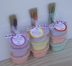 10 Sidewalk Chalk Paint / Birthday Party Favor / Summer Gifts / Kids Children Fun