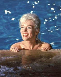 """Marilyn Monroe in """"Something's Got To Give"""", photographed by Lawrence Schiller, May 1962."""