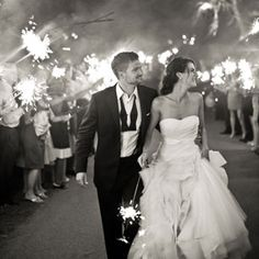love the sparklers