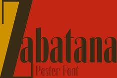 Zabatana poster by deFharo freelance on Creative Market