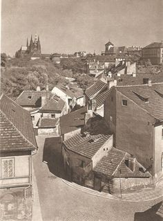 Prague, by J. Ehm, late 1950s.